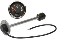 Elektrischer Füllstandsanzeiger 10-180 Ω, 12/24 V, H 28,0 cm