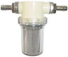 Inline-Vorfilter 1/2 für Pflanzenöl mit Schauglas (auswaschbar)