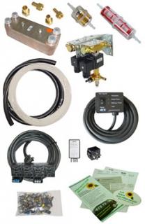 Pflanzenöl-Umrüstsystem 12/24 V - bis 150 kW Motorleistung
