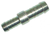 Schlauchverbinder reduzierend 06/08 mm, Messing
