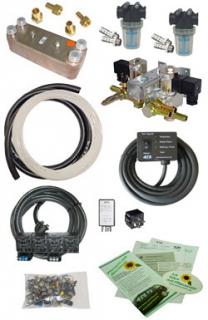 Pflanzenöl-Umrüstsystem 12/24 V - bis 250 kW Motorleistung