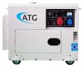 Pflanzenöl Multifuel Generator 6 KVA 3-phasig 400/230V