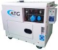 Pflanzenöl Multifuel Generator 6 KVA 1-phasig 230V inkl. ATS-Startautomatik für Start/Stop bei Ausfall des Stromnetztes oder externer Ansteuerung